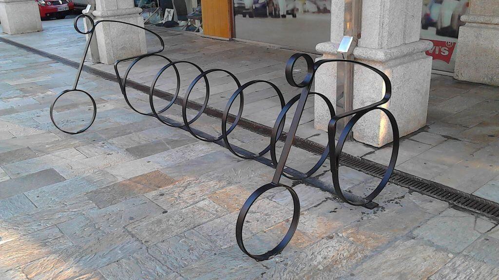 mobiliario aparcamento de bicicletas
