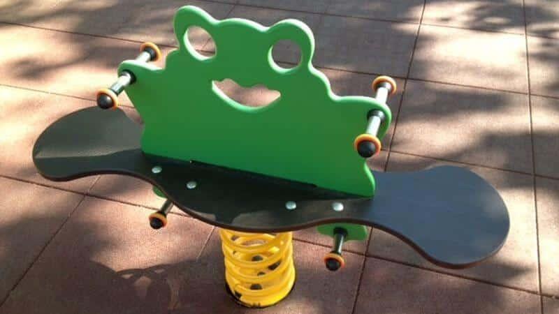 balancin muelle parques infantiles madrid