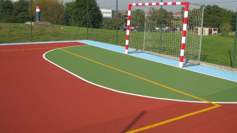 construccion pista futbol sala madrid