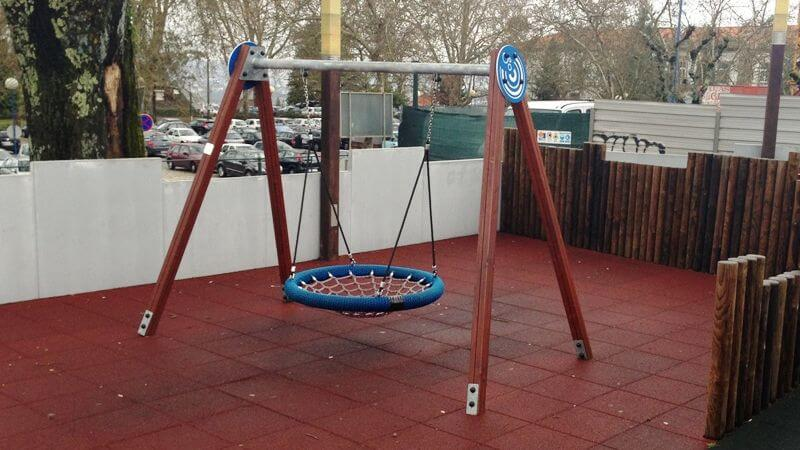 columpio para parques infantiles madrid