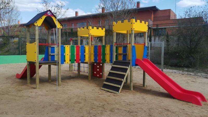 construccion complejos multiaventura infantiles