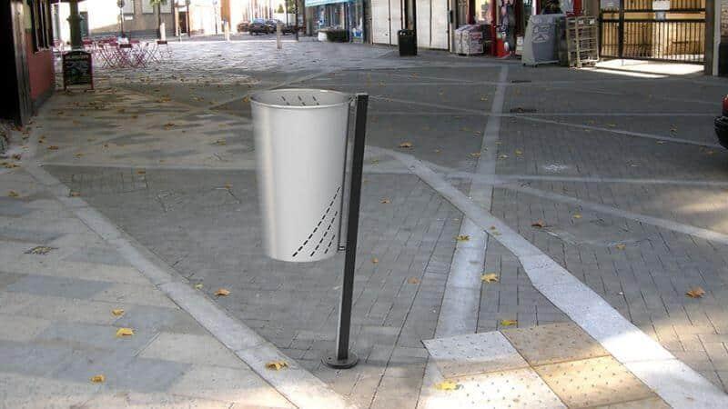 instalacion papeleras urbanas madrid