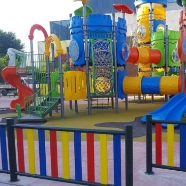 instalacion parques infantiles exterior