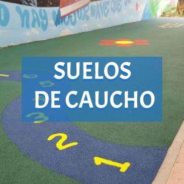 suelos caucho parque infantil