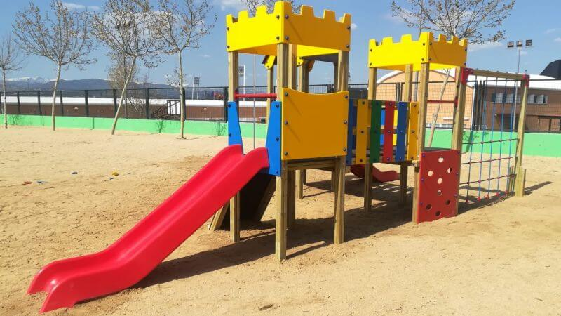 toboganes infantiles parque madrid