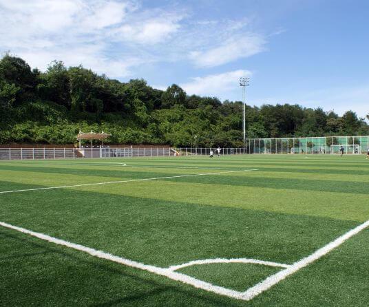 construccion campo futbol exterior nacional