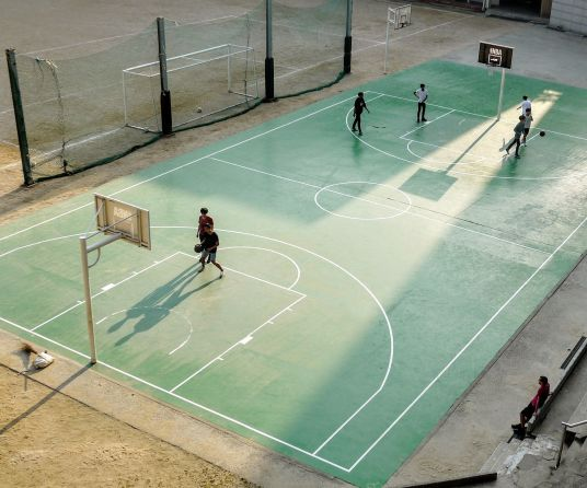 fabricante cancha baloncesto madrid