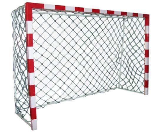equipamiento urbano deportivo porteria futbol red acero