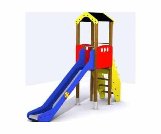 tobogan parque infantil madrid plastico