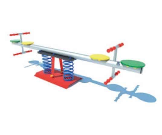 balancin tubo metalico