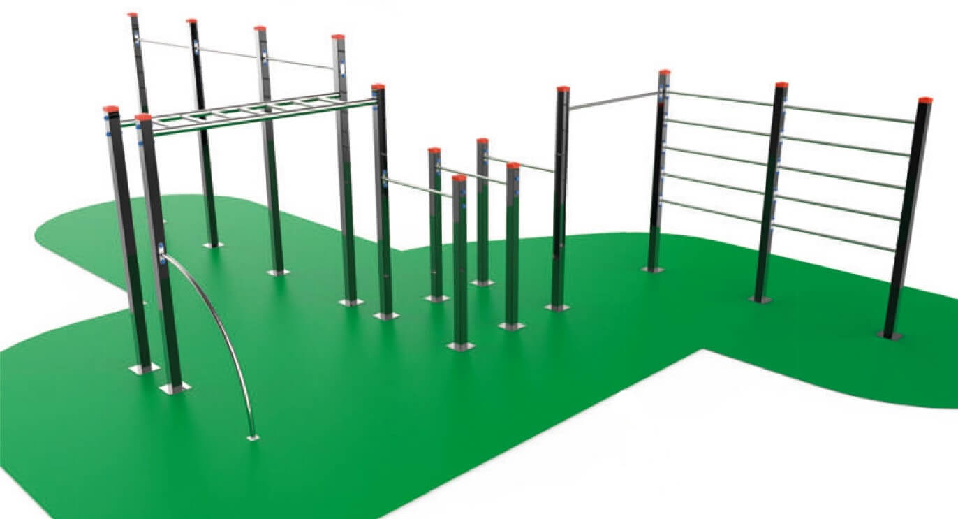 instalacion de equipamiento workout madrid parque
