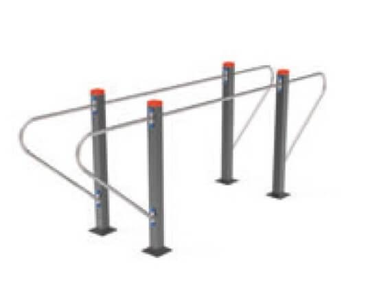 workout barras paralelas