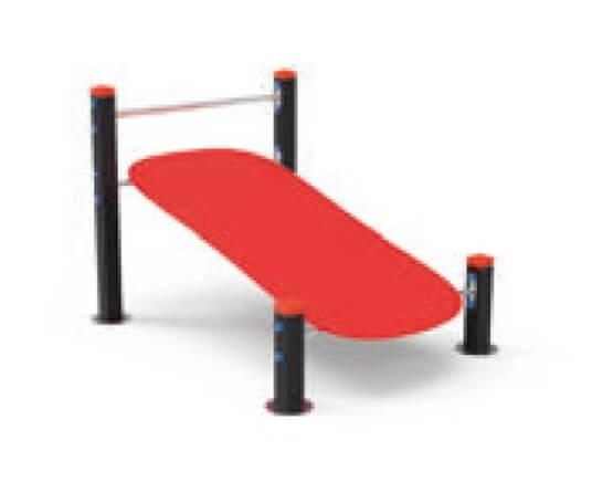 workout banco abdominales
