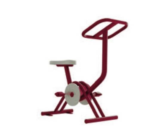 biosaludables exterior workout bicicleta