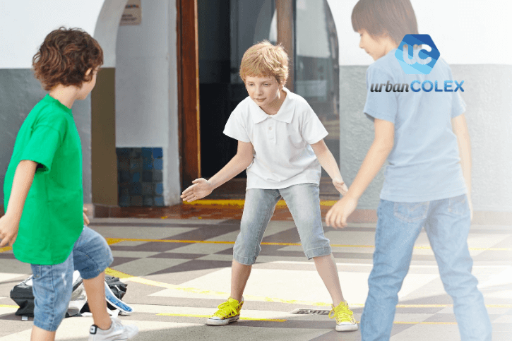 ideas para patios de colegio