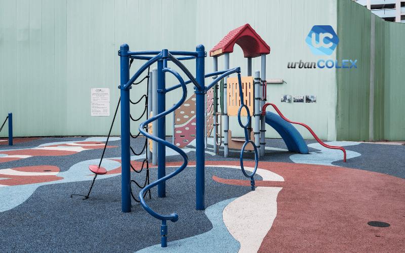 suelos de seguridad parques infantiles