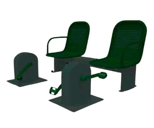 biosaludable banco pedales