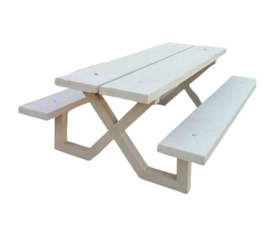 mobiliario urbano mesa picnic