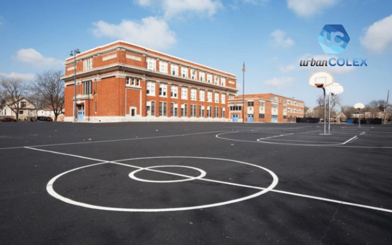 empresa manteminiento pistas deportivas colegio