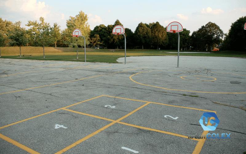 mantenimiento patios de colegio madrid